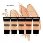 Wet n Wild Cover All Cream Foundation รองพื้นที่ช่วยอำพรางจุดด่างดำ และริ้วรอยบนใบหน้าได้อย่างเป็นธรรมชาติ สามารถบิ๊วท์ระดับการปกปิดได้ตั้งแต่ Medium to Full Coverage มี 5 เฉดสีให้เลือก