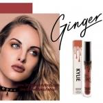 Kylie Matte Liquid Lipstick - Ginger ขนาด 3.25 ml. แบรนด์ลิปติกเนื้อแมทลิควิคที่มาแรงสุดๆ ในตอนนี้ ลิปจิ้มจุ่มเนื้อแมทมีเม็ดสีแน่น เนื้อเนียนละเอียด และมีส่วนผสมที่ให้ความชุ่มชื้น เม็ดสีชัดเจนมากไม่รู้สึกหนึบปากเกินไปค่ะ เมื่อผ่านไปสัก 5 นาที สีก็จะแมทท์