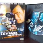 DVD LETHAL JUSTICE Steven Seagal