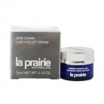 La Prairie Skin Caviar Luxe Eye Lift Cream ขนาดทดลอง 3 ml. ครีมบำรุงรอบดวงตาที่สุดแห่งการยกกระชับผิวรอบดวงตาด้วยส่วนผสมอันเลอค่าของสารสกัดที่ได้จากไข่ปลาคาร์เวียและโปรตีนทะเล มุ่งตรงสู่ริ้วรอยแห่งวัยทั้งเจ็ดประการบนผิวบอบบาง รอบดวงตา