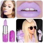 LIME CRIME Opaque Lipstick#D'Lilac ขนาด 3.5g.(ขนาดปกติ) สี Lavender สีม่วงซีดๆ สีเฉพาะที่สาวๆ ปาร์ตี้เกริลต้องมี สีแปลกสวยไม่ซ้ำใคร ลิปสติกเก๋ๆสุดฮิต สีจัด ชัดเจน บอกลาความจืดจางด้วยโทนสีที่แปลกแหวกแนวไม่ซ้ำใคร เนื้อสัมผัสเบาสบาย