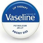 Vaseline Lip Therapy Petroleum Jelly Pocket Size สูตร Original ยอดนิยมดั้งเดิม ไม่มีสี ไม่มีกลิ่น ให้ริมฝีปากนุ่มชุ่มชื้น ยาวนานตลอดวัน ลิปบาล์มปกป้องดูแลริมฝีปากของคุณให้ดูอวบอิ่มน่าสัมผัส