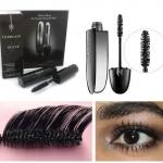 Guerlain Noir G De Guerlain Exceptional Complete Mascara # 01 Noir ขนาดทดลอง 3.5g. มาสคาร่าเทคโนโลยีใหม่เพิ่มความยาว เพิ่มวอลุ่มโดยไม่ทำให้เลอะเลือนผสมด้วยสารเร่งและกระตุ้นการเติบโตของขนตาเข้มข้นด้วยพิคเม้นต์สีดำผสมด้วยกลิ่นหอมของจัสมินขนตาโค้งงอน ยาวสวยง