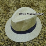 หมวกปานามาปีกกว้าง หมวกสาน หมวกปานามาสีน้ำตาลเข้มคาดน้ำตาล พร้อมส่งค่ะ **รูปถ่ายจากสินค้าจริงที่ขายค่ะ**