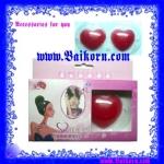 ซิลิโคนปกหัวนม รูปหัวใจ สีแดง ( Love type very sexy silicone pad ) ซิลิโคนที่ช่วยปกหัวนม แผ่นใหญ่ สามารถใช้ติดได้หลายครั้ง