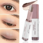 NOVO Color Eye Shadow Stick Double Color 02 Brown Coffee อายแชโดว์ทูโทน มี 2 สีในแท่งเดียว เนื้อครีมสีไฮไลท์ ทาได้ทั้งตา และแก้ม จัดวางรูปแบบให้สะดวกต่อการใช้ จึงแต่งหน้าได้อย่างง่ายและรวดเร็ว สาวๆที่ทาตาไม่เก่ง เบลนด์สียังไม่เป็นแนะนำเลยค่า มาพร้อมแพ็คเก