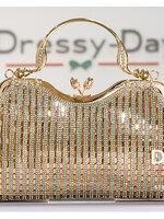 กระเป๋าออกงานพร้อ TE056 : กระเป๋าออกงานพร้อมส่ง สีทอง กระเป๋าคลัชตกแต่งกริตเตอร์สวยหรูมากค่ะ ราคาถูกกว่าห้าง ถือออกงาน หรือ สะพายออกงาน น่ารักที่สุด