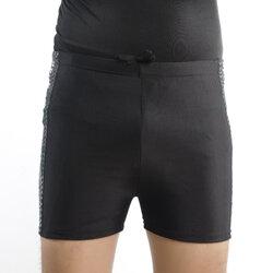 กางเกงว่ายน้ำไซส์ 5xl คละลาย เอวยืด มีเชือกผูก เอวใส่ได้ตั้งแต่34-40 สะโพก 40-46 ยาว 13 นิ้วค่ะ