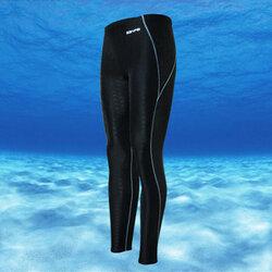 กางเกงว่ายน้ำชายสีดำ ผ้ากันแดด รอบเอว 34-40 นิ้ว สะโพก 38-44 นิ้วกางเกงยาว 36 ผ้าดี เนื้อหนา ระบายควมร้อนได้ดีมากค่ะ