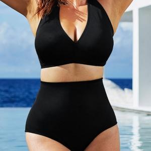 ชุดว่ายน้ำคนอ้วนทูพีช สีดำ 3xl รอบอก 32-38 รอบเอว 32-38 สะโพก 38-44 นิ้วค่ะ ผ้าดีงานสวยค่ะ