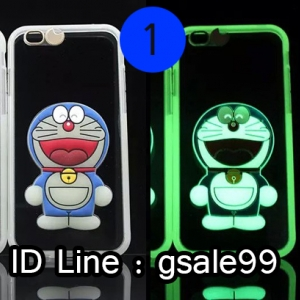 เคส iPhone SE (รองรับ 5 5s) โดราเอมอนเรืองแสง (1) ส่งฟรี EMS