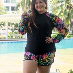 ชุดว่ายน้ำกัน uv เสื้อ +กางเกง 7xl และ 8xl ราคา 690 ค่ะ เลือกขนาดใส่ในช่องหมายเหตุได้เลยจ้ะ