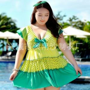 ชุดว่ายน้ำคนอ้วน สีเขียวเหลือง 6xl ต่อผ้า อก 46-52 เอว 44-52 สะโพก 48-54 ยาว 32นิ้ว ผ้าเนื้อดี่ด้านในเป็นขาสั้นไม่แยกชิ้น ยืดได้อีกนะคะ