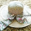 หมวกปีกกว้าง หมวกเที่ยวทะเล หมวกสานโทนน้ำตาล แต่งโบว์วินเทจรอบเก๋ ๆ thumbnail 1