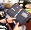 กระเป๋าสตางค์ใส่หนังสือเดินทาง พาสปอร์ต Passport Bag Travelus Grey สีเทา thumbnail 2