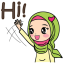 Jihab - Muslim Style Stickers - (EN) thumbnail 1