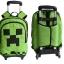 กระเป๋าเป้สะพายพร้อมรถเข็น minecraft thumbnail 3