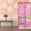 ม่านกันยุงลายวาเลนไทน์ สีชมพูขนาด90*210 thumbnail 1