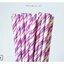 Single Pattern Paper Straws หลอดกระดาษ ใช้สำหรับดื่มน้ำ thumbnail 7