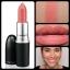 ลิปสติกสีใหม่ M.A.C Cremesheen Lipstick #Coral Bliss 3g.(ขนาดปกติ) ลิปส์สติกครีมชีนสีสวยออกใหม่ 2012 thumbnail 1