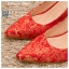 รหัส รองเท้าไปงาน : RR007 รองเท้าเจ้าสาว พร้อมส่ง สีแดง ปักดิ้นทอง สวย สง่า ดูดีแบบเจ้าหญิง ใส่เป็นรองเท้าคู่กับชุดกี่เพ้า ชุดยกน้ำชา ชุดงานหมั้น หรือ ใส่ออกงาน กลางวัน กลางคืน สวยสง่าดูดีมากคะ ราคาถูกกว่าห้างเยอะ thumbnail 2