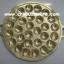 กระทะขนมครกทองเหลือง 016-KM-B28 Brass Khanom Krok pan. 016-KM-B28อุปกรณ์ทำขนม, พิมพ์ขนมครกทองเหลือง ,เตาขนมครก,ที่ทำขนมครก thumbnail 1