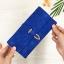 กระเป๋าสตางค์ผู้หญิง ทรงยาว รุ่น Table สีน้ำเงินเข้ม ใส่มือถือไอโฟน 6s พลัสได้ ส่งพร้อมกล่อง thumbnail 3