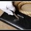กระเป๋าสตาค์ผู้ชาย ทรงยาว แบบซิป Denater Zipper สีดำ thumbnail 14