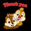 Chip 'n' Dale Animated Stickers[เคลื่อนไหวได้] thumbnail 1