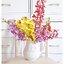 Shabby Chic Ceramic Vase แจกันเซรามิค ทรงเหยือก สีขาว thumbnail 1
