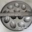 พิมพ์ขนมไข่อะลูมิเนียม ใหญ่ ขนาด 9 นิ้ว แบบที่ 4 ลายมะเฟือง มี 12 หลุม 016-KK-AL49 Khanom Khai aluminum mold 9 inch. Big size. อุปกรณ์ทำขนม thumbnail 2