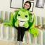 หมอนผ้าห่มกบ Tabikaeru Travel frog thumbnail 4