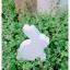 Wooden Bunny - White thumbnail 6