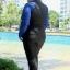 ชุดว่ายน้ำคนอ้วน สีน้ำเงิน 7xl และ 8xl กัน uv แขนยาว+ขายาว คลิ๊กดูขนาดและ เลือขนาด ใส่ในช่องหมายเหตุเลยนะคะ thumbnail 2