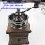 ที่บดกาแฟมือหมุน ขนาดเล็ก รหัสสินค้า 005-DE-8521, Simple Antique Style Manual Conical Ceramic Burr Wooden Coffee Bean Grinder with Drawer thumbnail 5