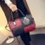 กระเป๋าถือขนาดกลาง กระเป๋าสะพายไหล่ สะพายข้าง Hand Bag Red Black สีแดงดำ thumbnail 9