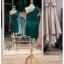 รหัส ชุดราตรีสั้น :PF140 ชุดราตรีสั้นผ้าซาติน เดรสออกงานไหล่เฉียง ชุดไปงานแต่งงานสีเขียว ชุดแซกงานสวยมาก แบบประดับโบว์เพิ่มความน่ารักคะ thumbnail 2