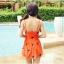 ชุดว่ายน้ำไซส์ xl สีส้ม 32-36 รอบเอว 24-30 สะโพก 34-40 นิ้ว ยาว 32 นิ้วค่ะ เนื้อผ้าดี สวยค่ะ thumbnail 7