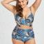 ชุดว่ายน้ำทูพีช สีน้ำเงิน 3xl รอบอก 38-44 เอว 32-38 สะโพก 42-46 นิ้วค่ะ เนื้อผ้าดีงานสวยค่ะ thumbnail 1