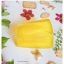 Yellow Short Glass Cup แก้วน้ำสีเหลือง ลายเกลียว นูน thumbnail 2