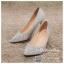 รหัส รองเท้าไปงาน : RR005 รองเท้าเจ้าสาวสีเทาเงิน พร้อมส่ง ตกแต่งกริตเตอร์ สวยสง่าดูดีแบบเจ้าหญิง ใส่เป็นรองเท้าคู่กับชุดเจ้าสาว ชุดแต่งงาน ชุดงานหมั้น หรือ ใส่เป็นรองเท้าออกงาน กลางวัน กลางคืน สวยสง่าดูดีมากคะ ราคาถูกกว่าห้างเยอะ thumbnail 1