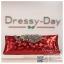 กระเป๋าออกงาน TE036 : กระเป๋าคลัช ออกงานพร้อมส่ง สีเแดง สวยเก๋หรูกับที่เปิดเป็นเพชรลายนกยูง ถือออกงานก็สวย สะพายออกงานก็ปังแบบดาราใช้ ราคาถูกกว่าห้าง thumbnail 1