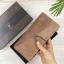 กระเป๋าสตางค์หนังแท้ทรงยาว สีน้ำตาลเทา เก็บของได้เยอะมาก เเยกชิ้นส่วนได้ ใส่มืือถือได้ thumbnail 9