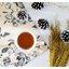Snow Pinecone ลูกสนธรรมชาติ สีน้ำตาลเข้ม แต้มขอบปีกด้วยสีขาว thumbnail 20