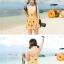 ชุดว่ายน้ำไซส์ xl สีส้ม 32-36 รอบเอว 24-30 สะโพก 34-40 นิ้ว ยาว 32 นิ้วค่ะ เนื้อผ้าดี สวยค่ะ thumbnail 6
