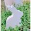 Wooden Bunny - White thumbnail 4