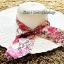 หมวกปีกกว้าง หมวกเที่ยวทะเล หมวกปีกว้างสีครีม แต่งโบว์ใหญ่ลายดอกไม้วินเทจรอบเก๋ ๆ thumbnail 1
