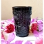 Black Glass Cup แก้วน้ำสีดำ ลายนูน thumbnail 1