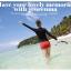ชุดว่ายน้ำทูพีชแขนยาวกัน uv รอบอก 32-38 รอบเอว 28-32สะโพก 34-42 นิ้วค่ะ thumbnail 5