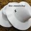 หมวกปานามา ผ้าวูล สีครีม (สินค้าพร้อมส่งค่ะ) **รูปถ่ายจากสินค้าจริง งานสวยจริงคะ** thumbnail 2